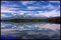Reflet des montagnes